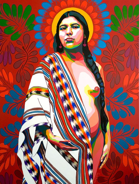 Andean Goddess, Pachamama