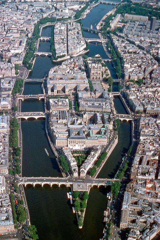 Ile de La Cité, Paris 1971
