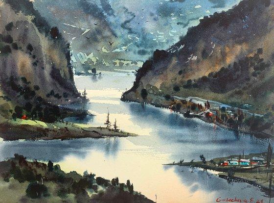 Mountain river #8