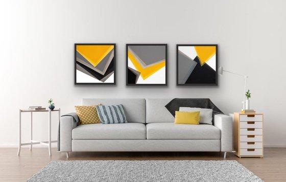 Geometric Triptych