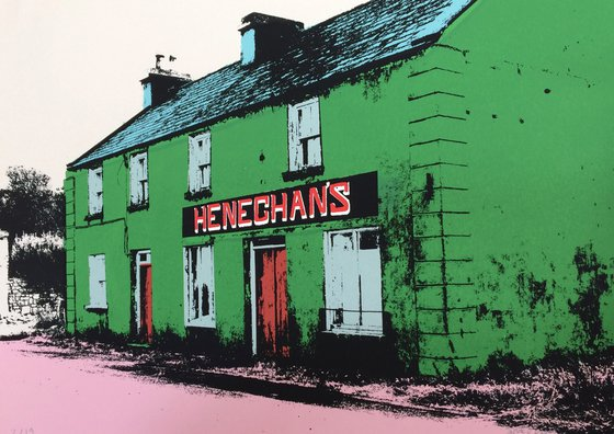 Irish shop fronts - Heneghan's