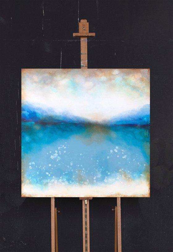 bluescape (100 x 100 cm) Dee Brown