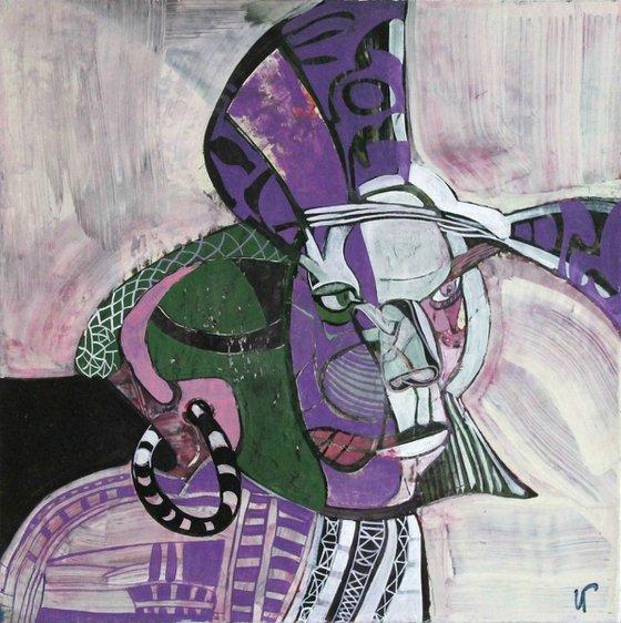 Portrait (40x40 cm)
