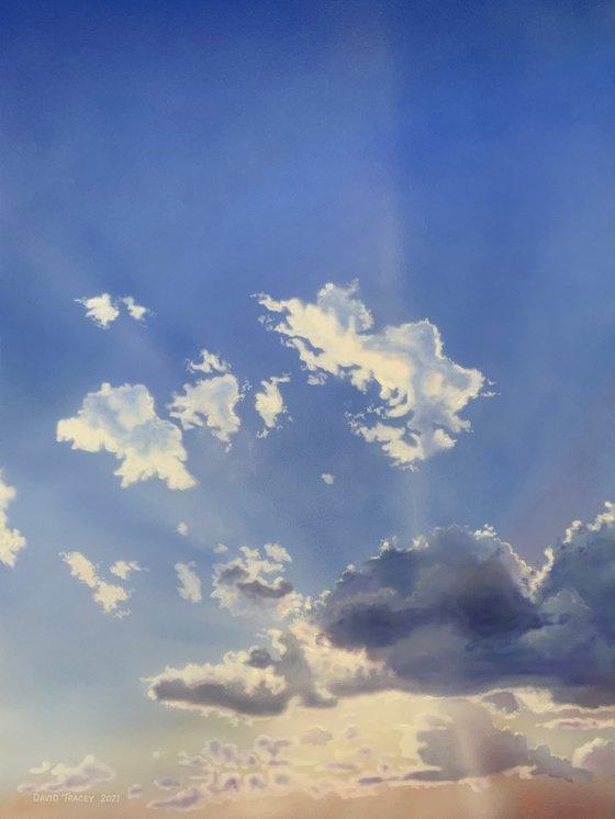 Warm Light, Cool Air (86 x 114cm)