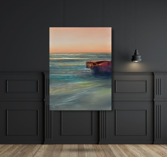 """"""" The Calm Sea Of A Quiet Evening """"..SPECIAL PRICE!!!"""