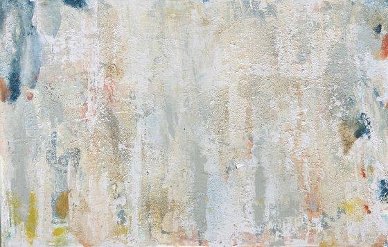 Mur sablé