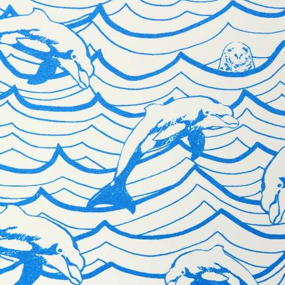 Waves and Dolphins