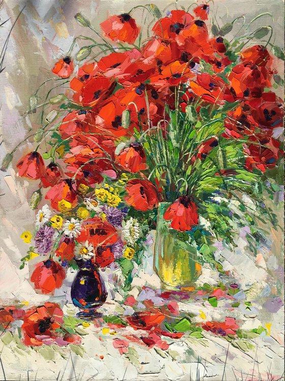 red Tulips (60x80 cm)
