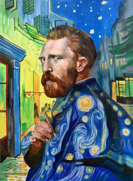 Van Gogh portrait painting