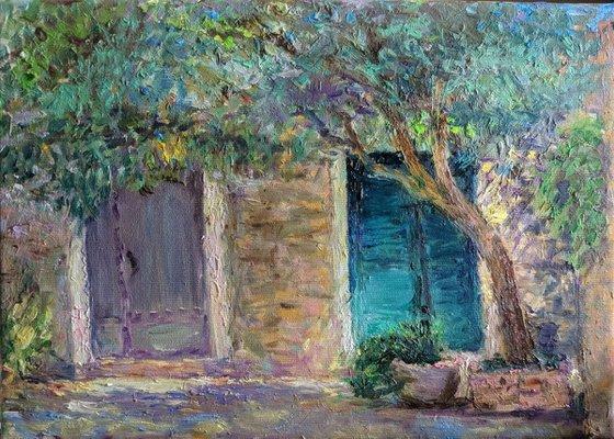 The door of the old city. Budva