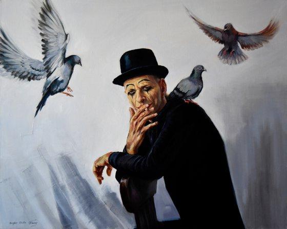 The birdman mime