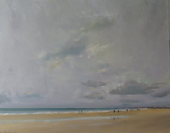 Bridlington Beach, Aug 26