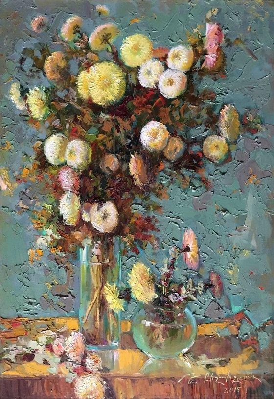 Chrysanthemum (80x55 cm)