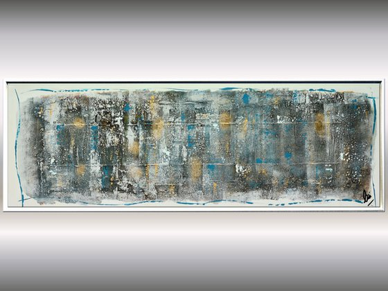 Tranquility  - Abstract Art - Acrylic Painting - Canvas Art - Framed Painting - Abstract Painting - Industrial Art