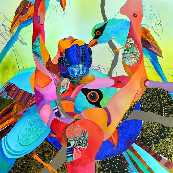 """Dancing With Birds"""