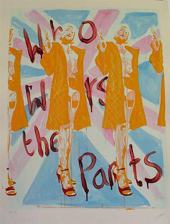 Pulp Art - Who Wears The Pants