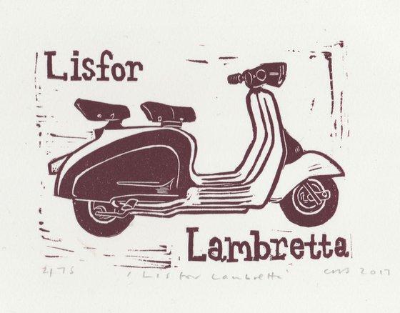 L is for Lambretta