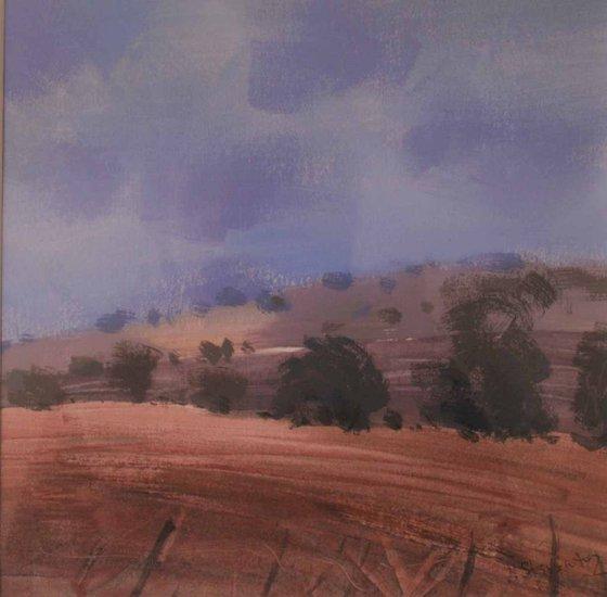 Light on the hillside