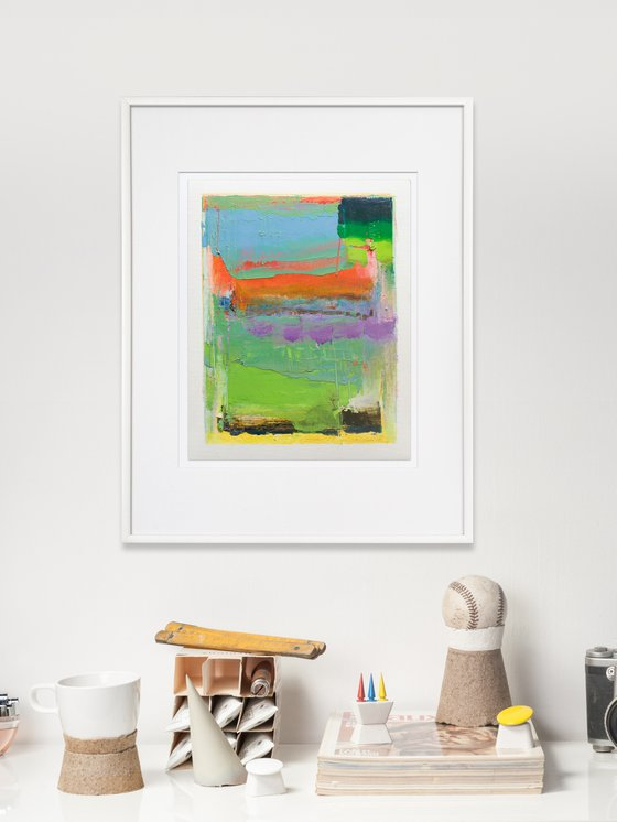 NO PP 09, Contemporary Abstract Oil Painting, 20x25cm