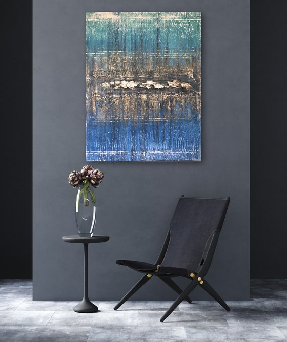 View 1. Abstract painting 90 X 70 sm.