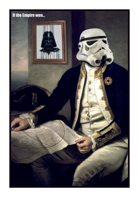 if the empire won... Captain Cook