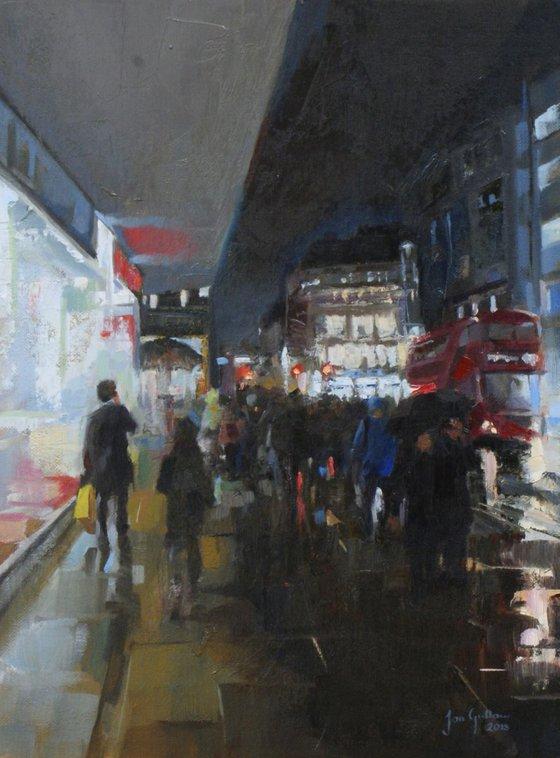 Rainy Oxford St