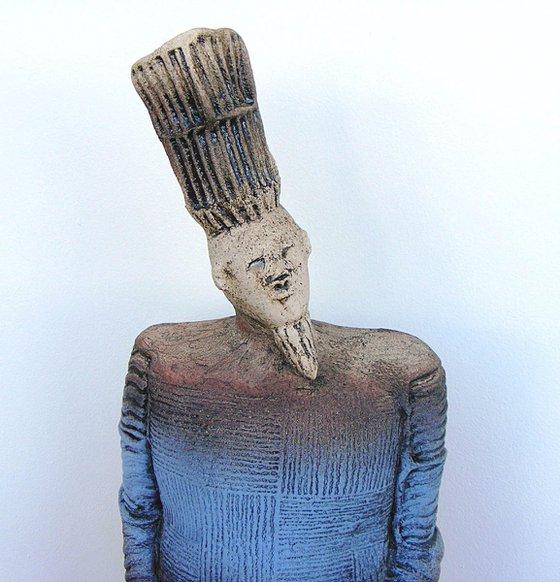 Ceramic Sculpture  -  King Priam