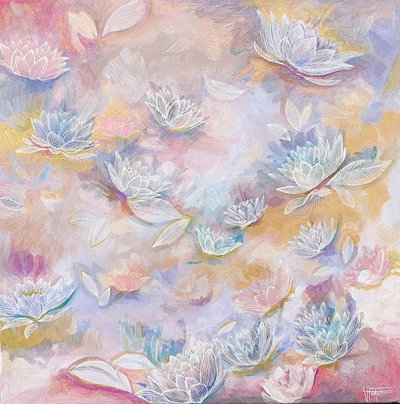 Floral Collection, Pastel Shades 1