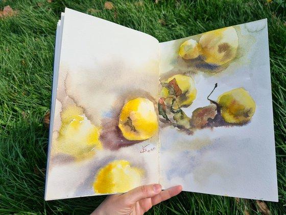 "Sketchbook ""Plein Air. Autumn"""
