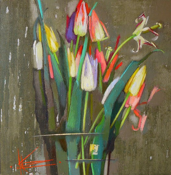 Unusual tulips