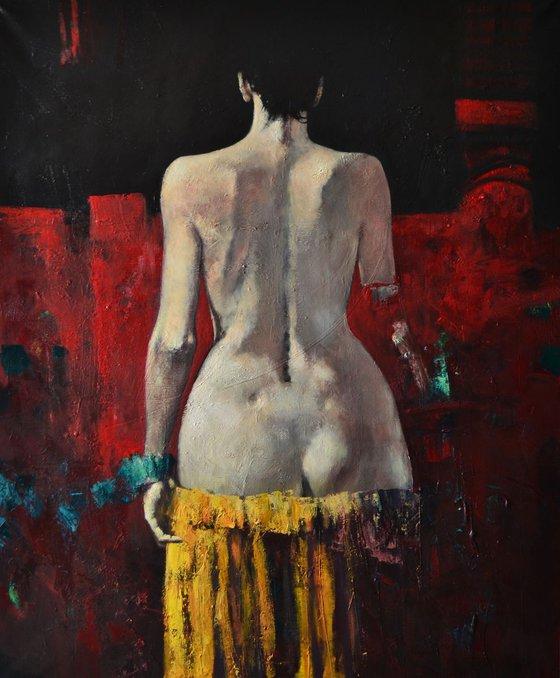 Sensuality & Taboo (115x140 cm)
