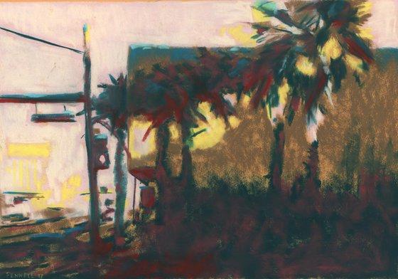 Las Vegas Palms Painting