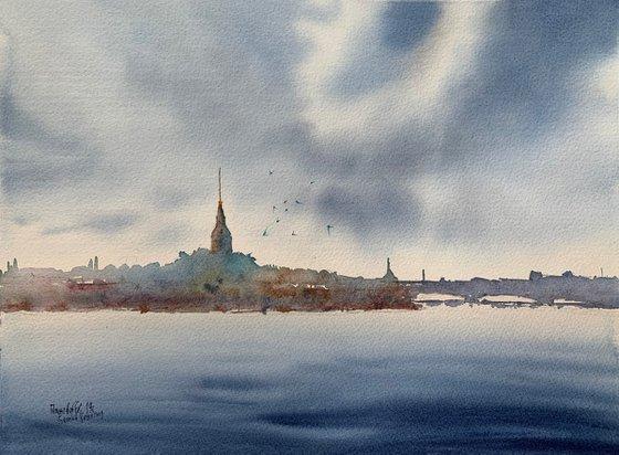 Secrets of the city on the Neva. St. Petersburg.