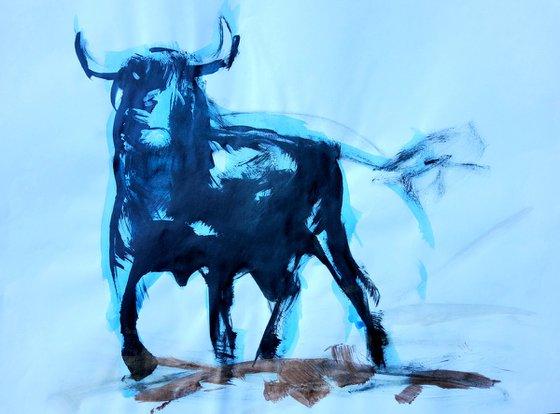 Ink bull 1