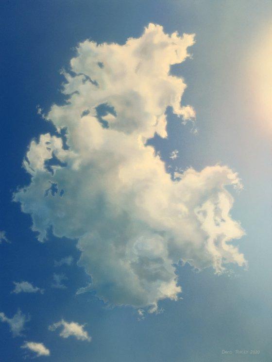 Portrait of a Cloud (86 x 114cm)