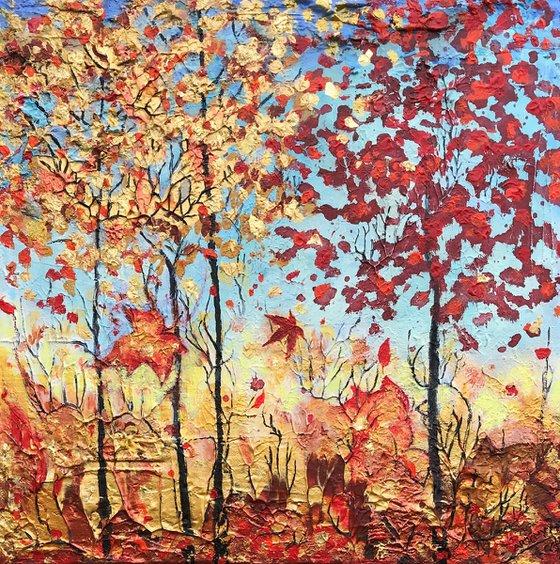 Mabon's Autumn Woodland