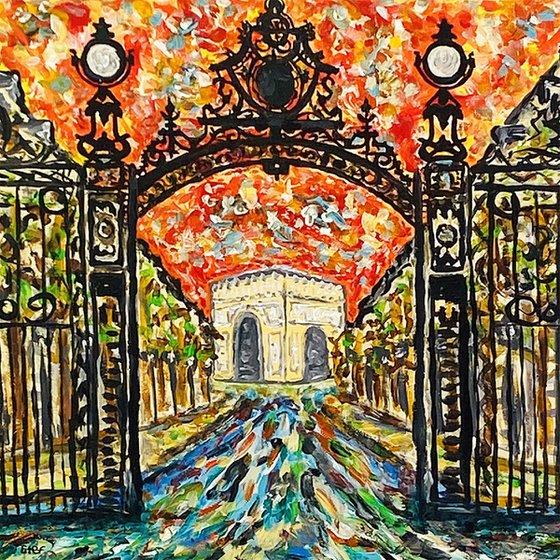 Gate to Parc Monceau