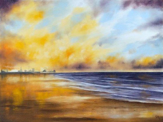Evening Tranquility ( Original Pastel painting)