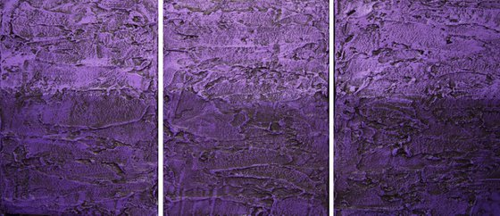 "Purple Infatuation 2 48 x 20 """