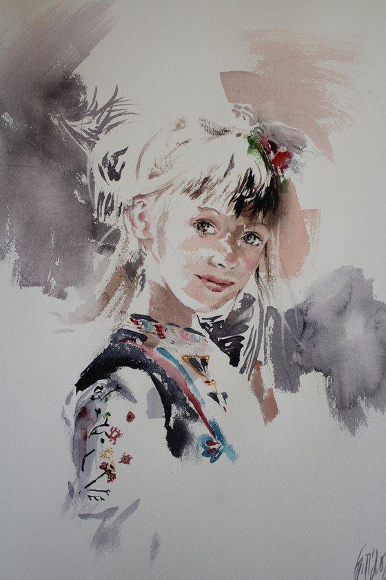Bulgarian child