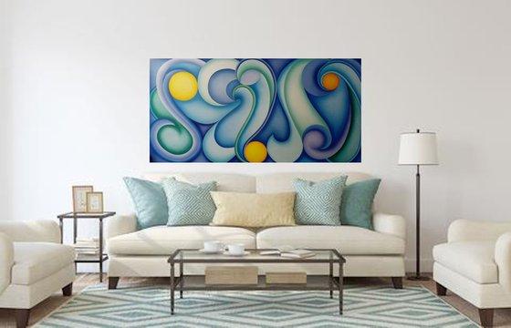 Blues spirals