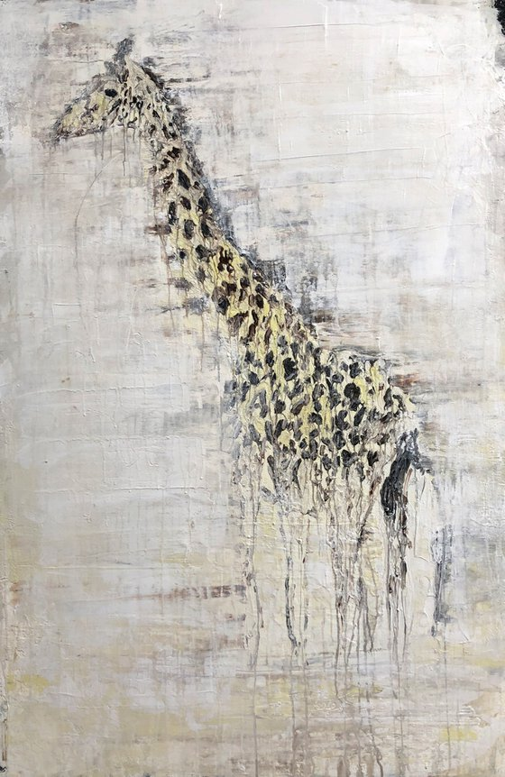 """1301 Abstract Giraffe"""