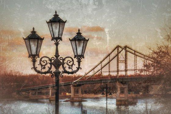 Kiev city lantern