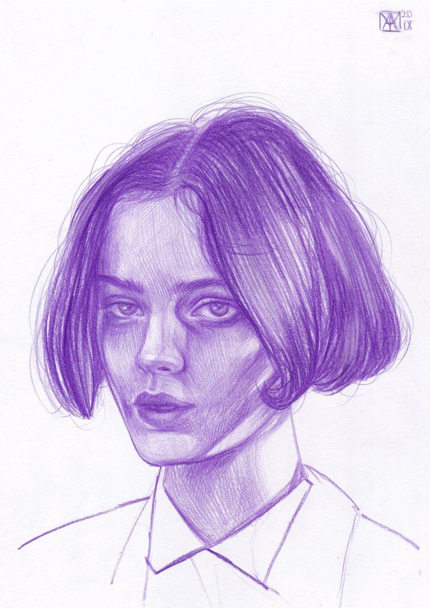 'Poison' Pencil drawing by Anastasia Terskih | Artfinder