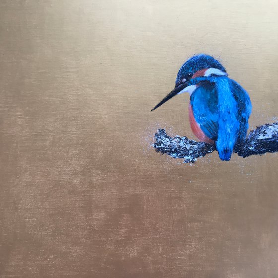 Kingfisher ~ On Gold