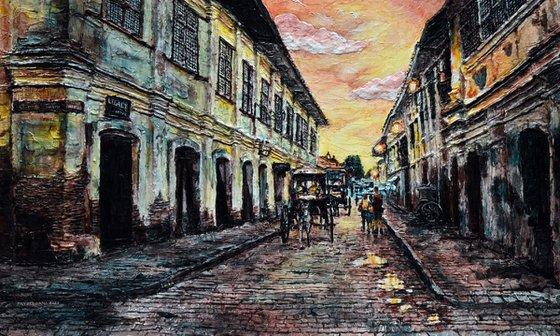 Calle Crisologo at Dusk 2