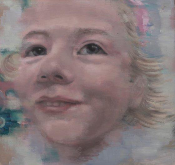 Portrait of the pure soul