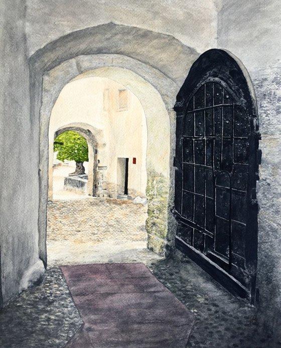 Hohensalzburg Castle Doorway
