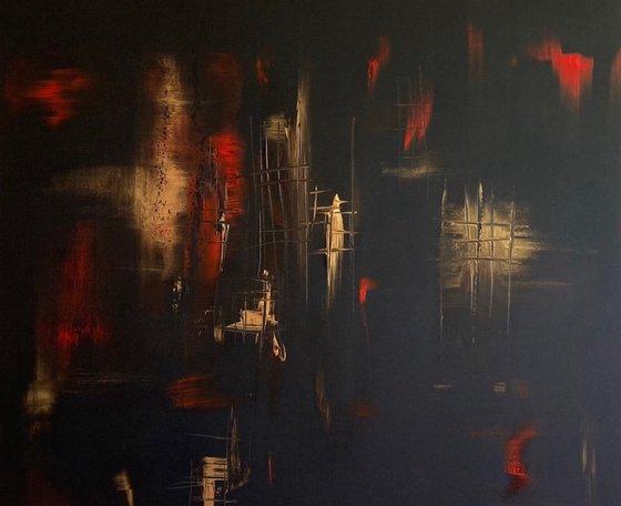 """""""The Secret Passage"""" 120x100x4cm"""