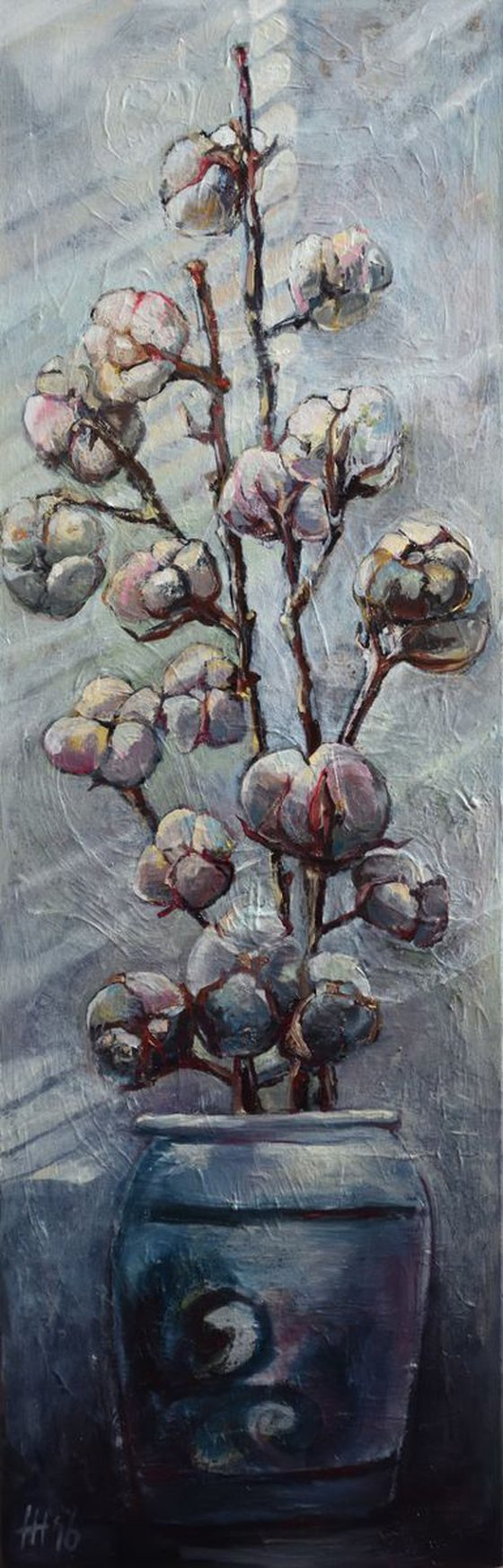 Still life with Cotton